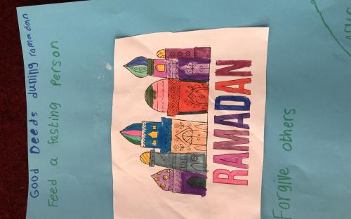 GMIS class activity for Ramadan